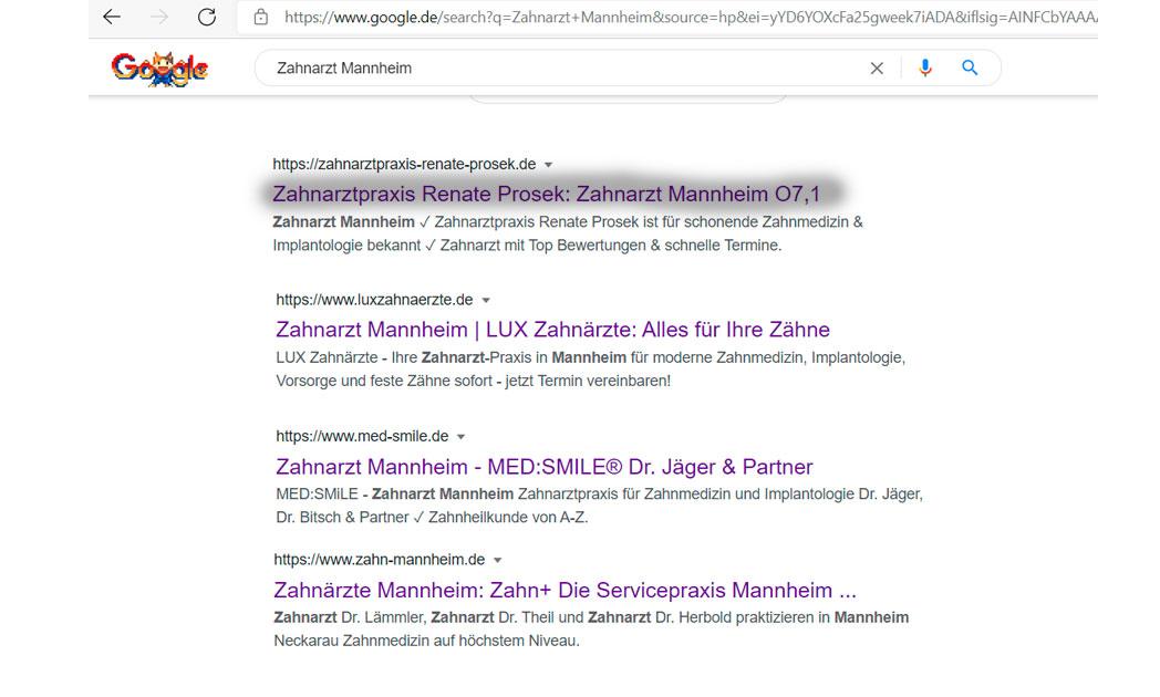 SEO: Auf Google Organisch gefunden werden