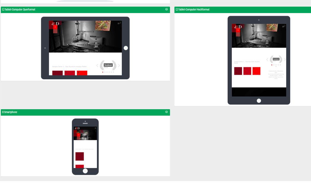 SEO für Mobile Endgeräte wie Tablets & Smartphones